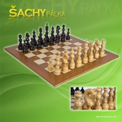 Regency Chessmen Ebonysed